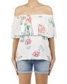 Floral romy top A