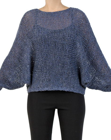 Ivanna jumper Denim front sleeves