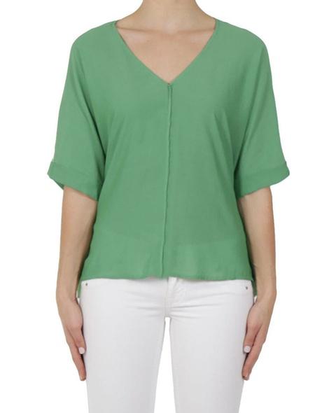 Emelia top green A