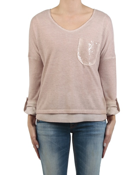 Paulie knit blossom front sleeves