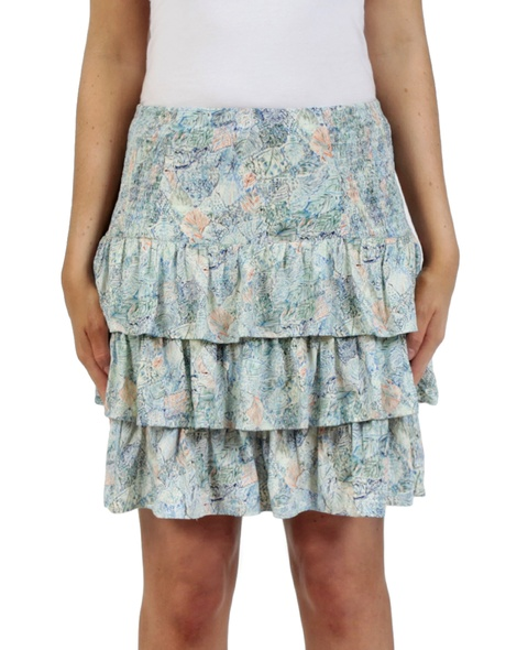 Sicily Posie Skirt blue front copy