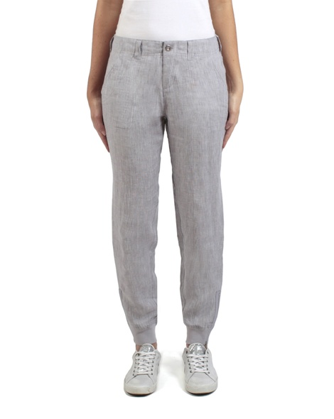Cooper crosshatch pant stone front