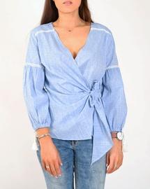 Joss Wrap Shirt