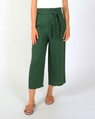 Claire linen pant green A new