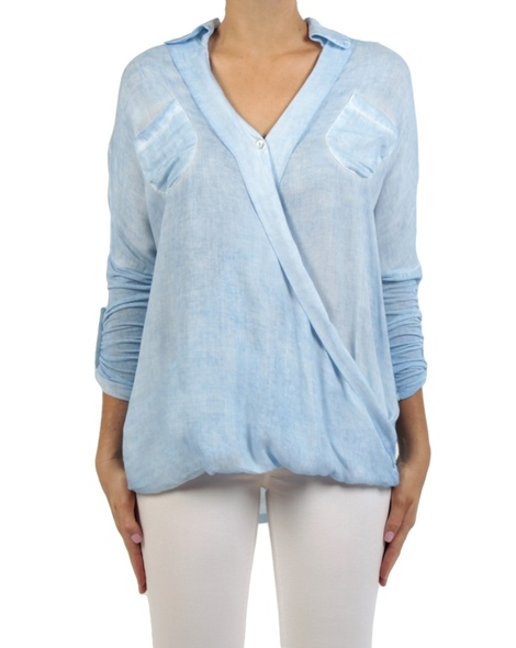 Danah top sky front sleeves