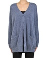 Cara cardigan denim front button
