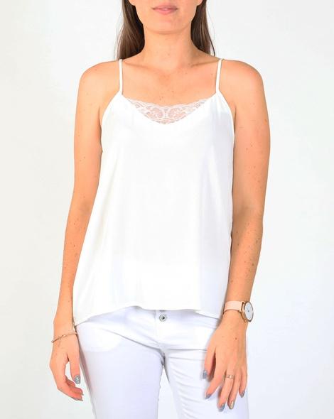 Lina lace cami white A