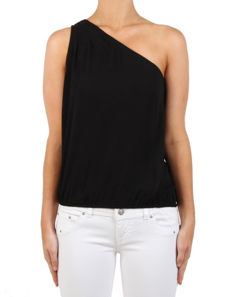 Mimi top black front