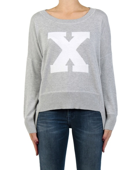 x jumper silver front