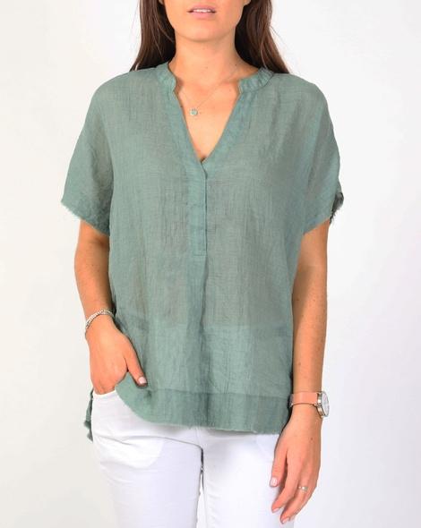 Olinda top green A