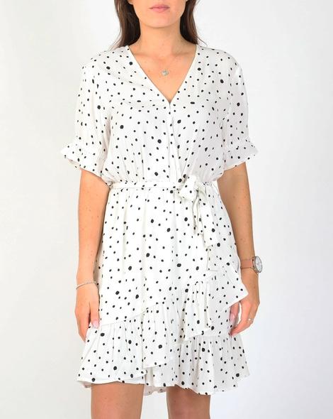 Tara spot dress A