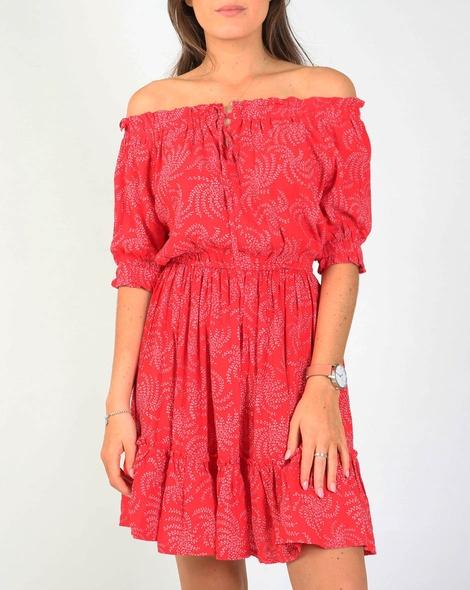 Ivy dress red A
