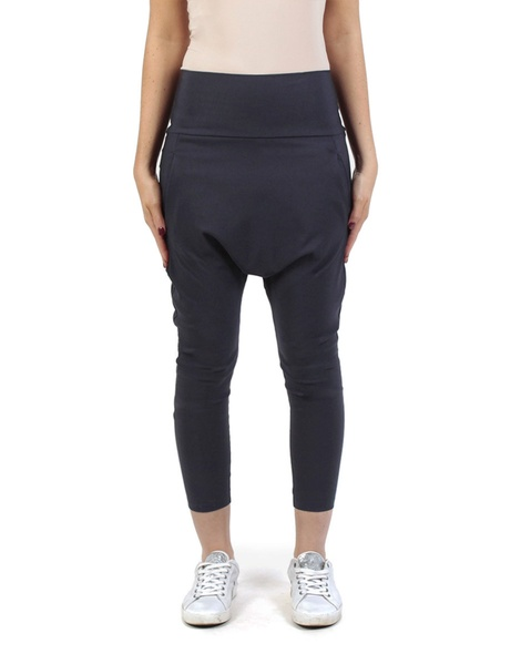 Twill Milano pant midnight front copy