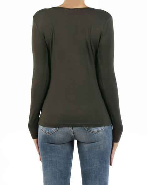 Sharnie Twist top khaki back copy