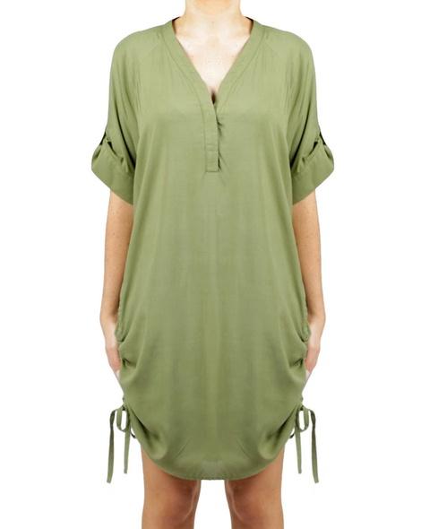 Tiffany Dress Moss A