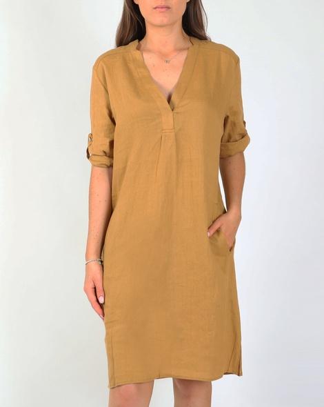 Brielle dress camel A