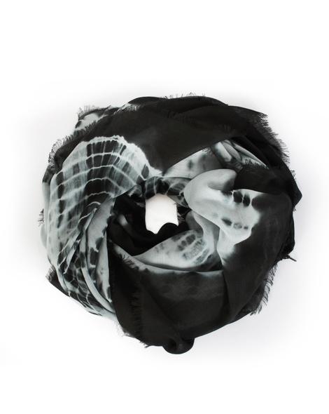 Tie Dye scarf grey