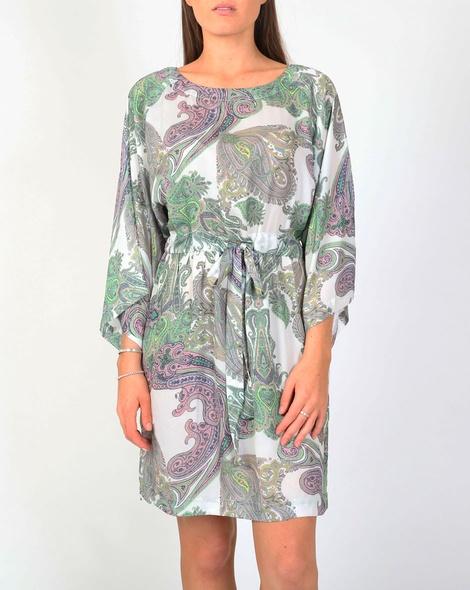 paisley lotus dress A