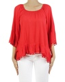 Castanet top red A