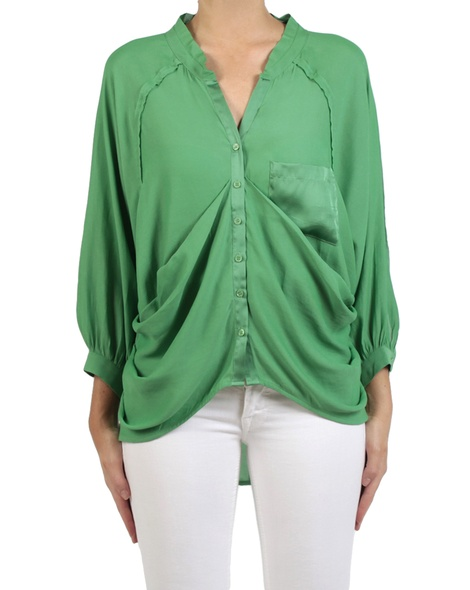 Amei shirt green front copy