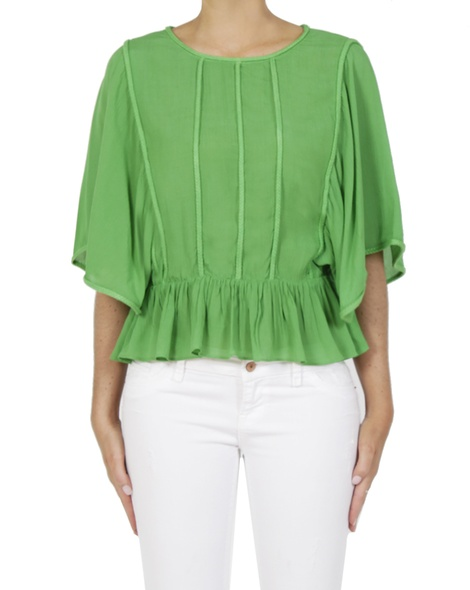 Dainty top green A
