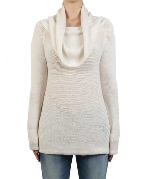 Marley jumper oyster front cowl
