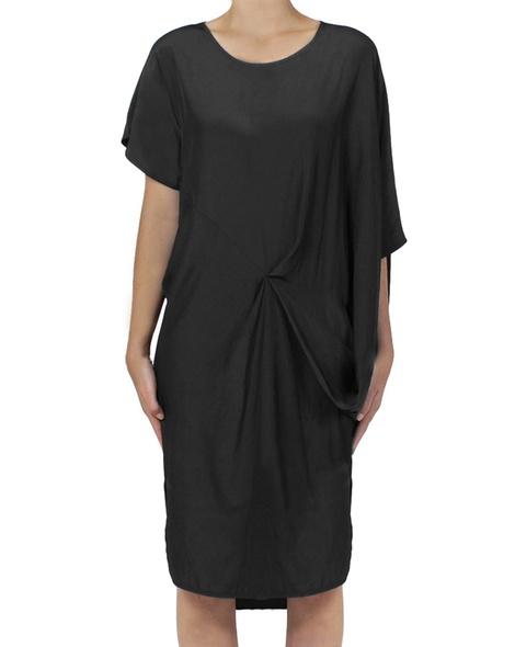 nuccia dress black front