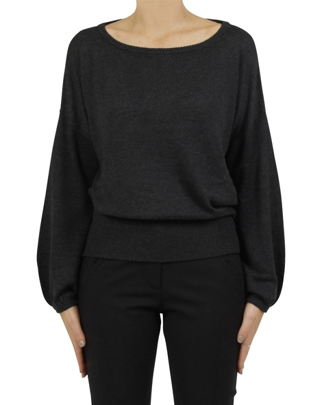Chelsea knit charcoal A