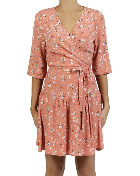 Isabel wrap dress blossom A copy