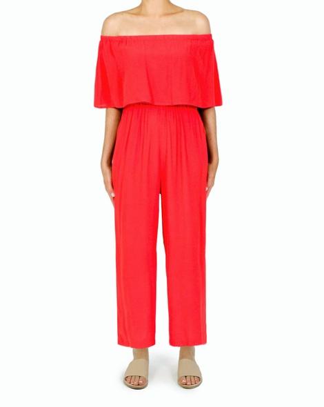Daphne Jumpsuit red A