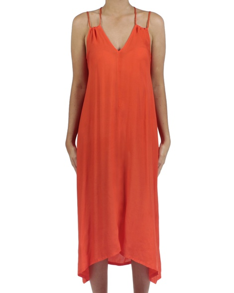 Soiree dress amber front copy