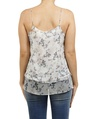 floral catherine singlet white B