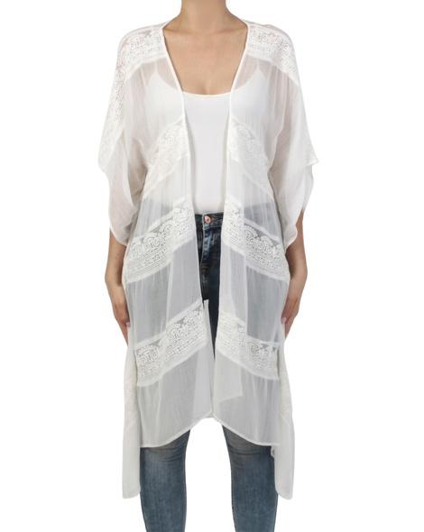 Tory kimono ivory front