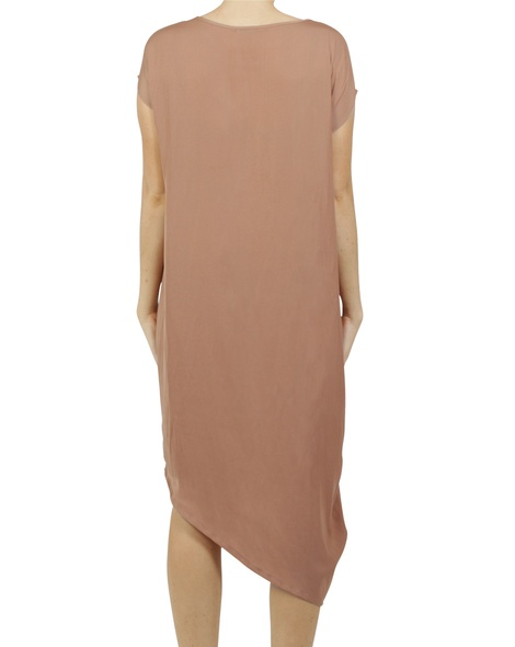 Allegra dress cinnamon B