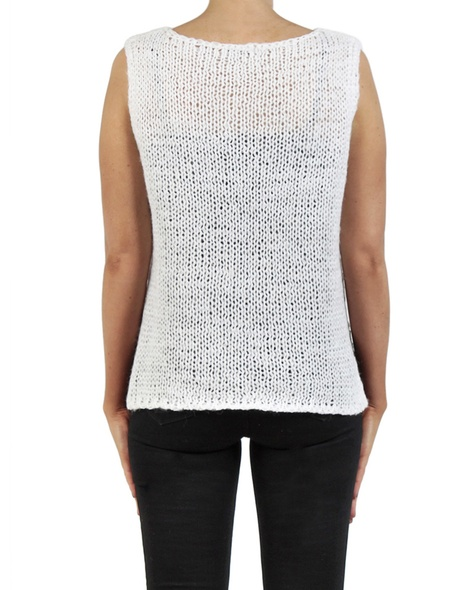 Pippa vest white back