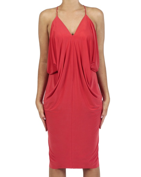 Hayden Dress red front