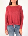 Lenora knit red A