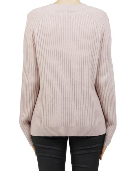 Cold sholder pullover pink B