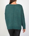 Dakota knit teal B