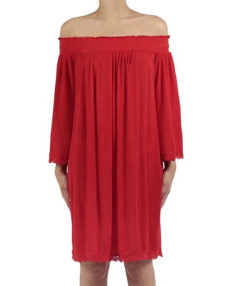 Majorca dress red front copy