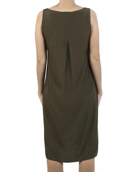 Kendall Dress olive back copy