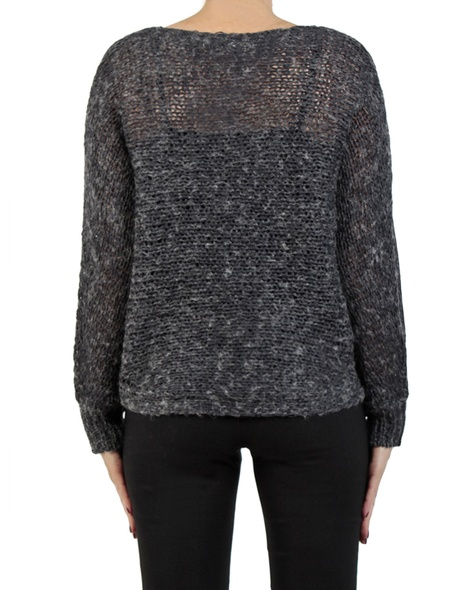 Ivanna jumper charcoal back