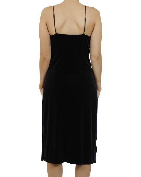 Rae velvet slip dress B