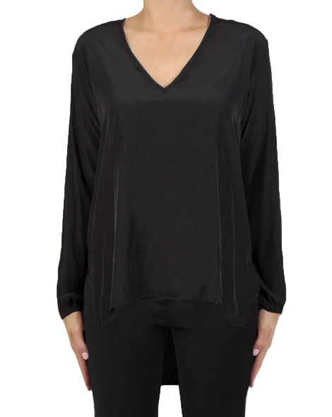 Muriel Top black front blk pants