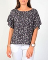 Ditzy fiori top navy A