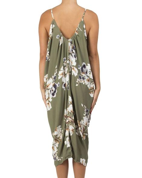 floral peony dress B