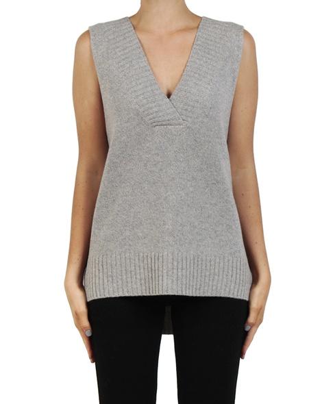 Leona Vest Grey front B copy