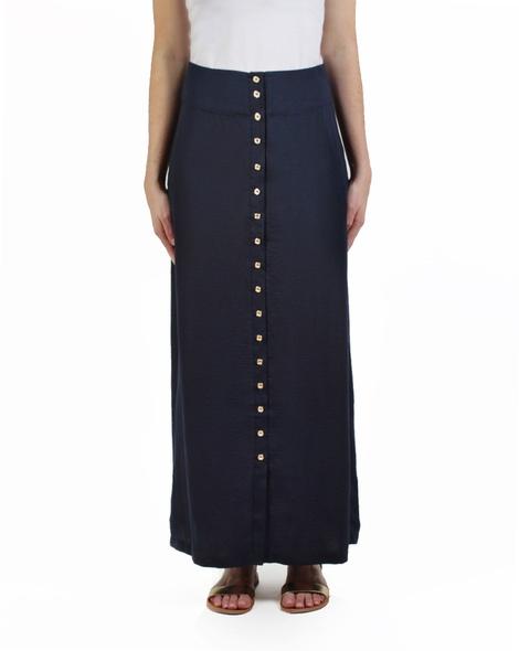 Cherise skirt navy front