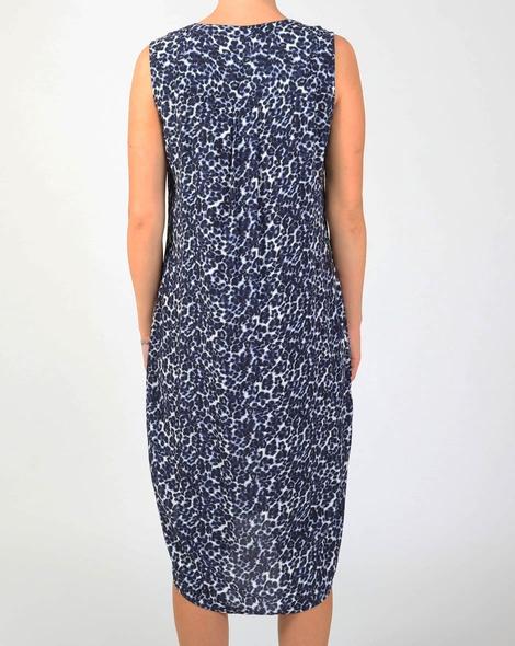 Animal blue dress B