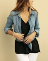 Kendall tank + Denim shirt (14)